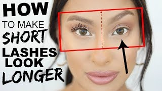 Baixar How to make SHORT Lashes look LONGER! Tips & Tricks | Lash Routine for weak lashes