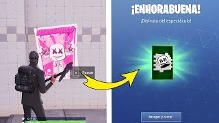 BUSCA Un Cartel HORA Del Espectáculo | EVENTO MARSHMELLO HORA DEL ESPECTACULO FORTNITE