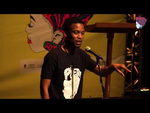 HLOX THE REBEL AT POETRY AFRICA 2017