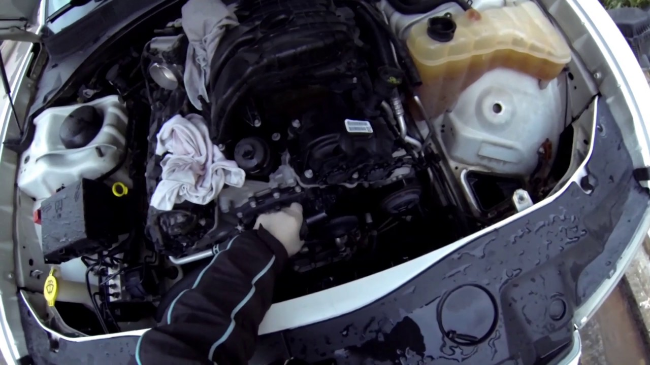 2011 2014 dodge charger v6 thermostat replacement youtube 2012 dodge charger v6 engine diagram [ 1280 x 720 Pixel ]