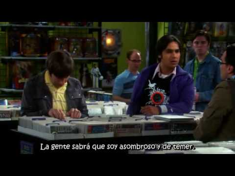 The Big Bang Theory - Raj's Shirt - Subtitulado Español