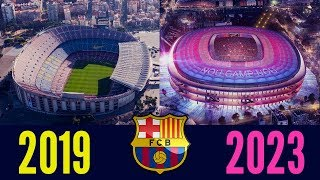 10 Football Stadiums Now & In The Future