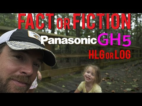 GH5 HLG better than LOG - fact or fiction - firmware 2.0 cam