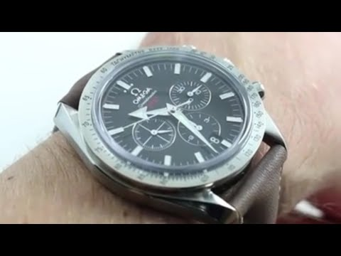 Omega Speedmaster Broad Arrow Co-Axial Chrono Luxury Watch Review