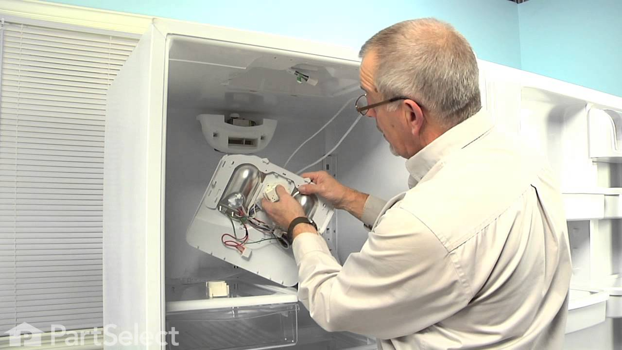 Refrigerator Repair  Replacing the Defrost Timer (Whirlpool Part # 67001036)  YouTube