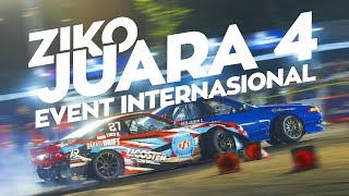Juara 4 di Event Drift Internasional!