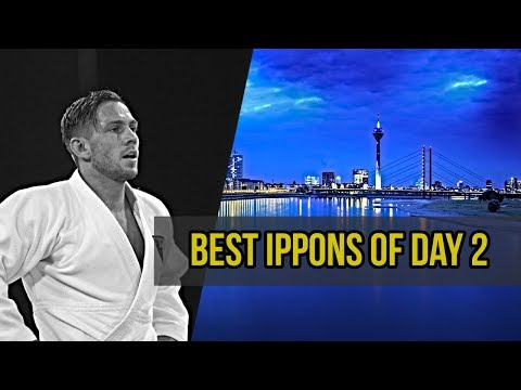 Best ippons in day 2 of Judo Grand Slam Dusseldorf 2019