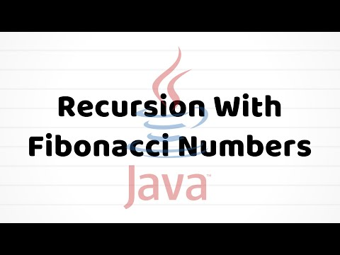 recursion-with-fibonacci-numbers-|-java-tutorial