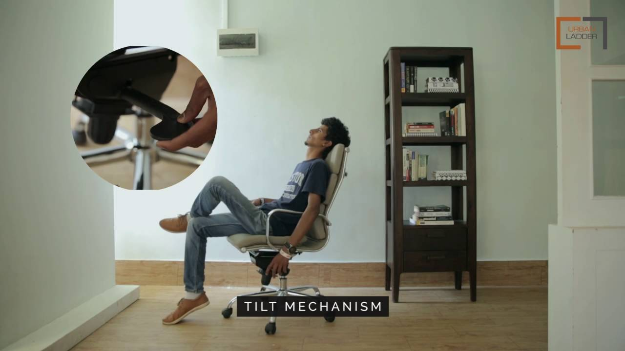 Charles Executive Ergonomic Study Chair from Urban Ladder & Charles Executive Ergonomic Study Chair from Urban Ladder - YouTube