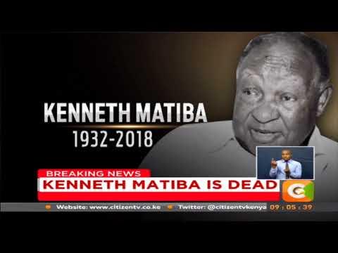 'Second liberation' hero Kenneth Matiba passes away in Nairobi