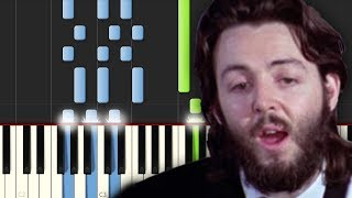 Let It Be / The Beatles / Piano Tutorial / Cover