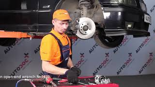 How to change Brake caliper carrier 3 Compact (E36) - step-by-step video manual