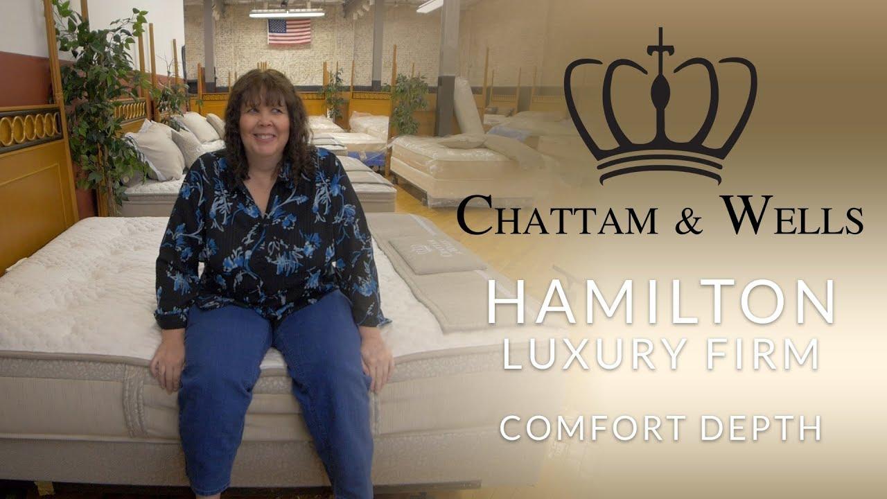 Chattam Wells Hamilton Luxury Firm Mattress Comfort Depth 2