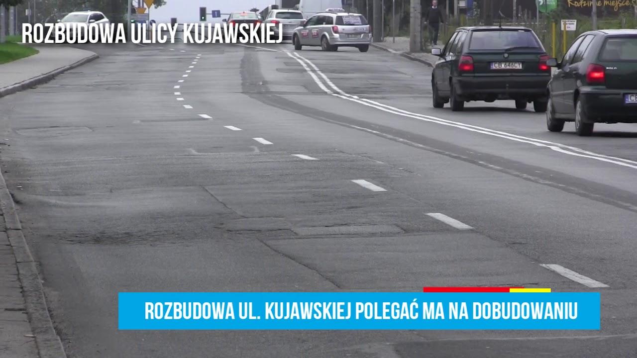 Rozbudowa ulicy Kujawskiej