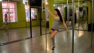 Real Pole Dance Strekoza