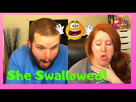 SHE SWALLOWED? | Trying Spicy BOILED EGGS | Jalapeno