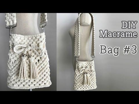 DIY Macrame Bag #3 / 마크라메 가방 #3