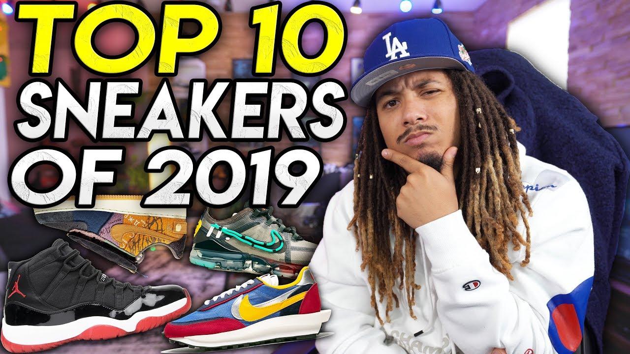 TOP 10 SNEAKER RELEASES OF 2019 - YouTube