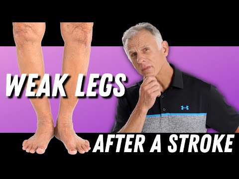 After Stroke: 3 Exercises for a Weak Leg. (Strengthening of Leg)