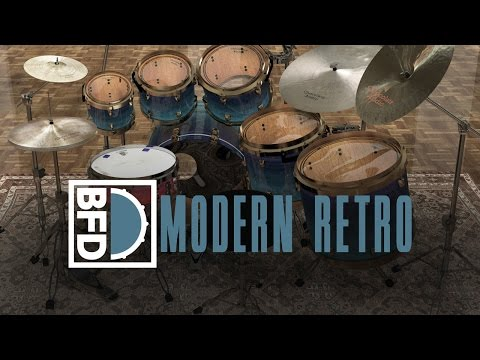 BFD Modern Retro expansion pack - YouTube