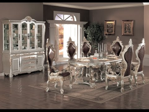 Modern Formal Dining Room Sets - YouTube