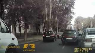 Драка водителей ВАЗ