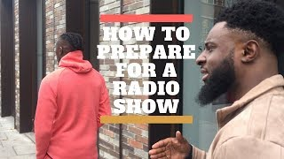 90s Baby TV | How To Prepare For A Radio Show With Kyze SN1