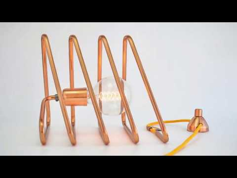 Cool !!! 36 Cool Copper Table Lamps To Warm Up Your Interior
