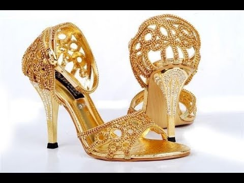 wedding-gold-shoes-bridal-footwear-latest-designs-2017
