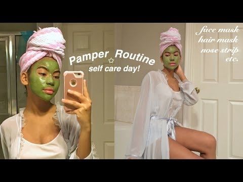 My Pamper Routine *Self Care Day* thumbnail