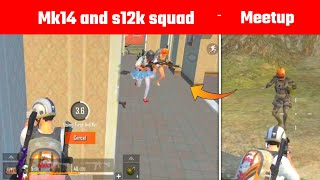 Full squad Pushed on me with the Best guns of Pubg mobile lite | Gamo Boy