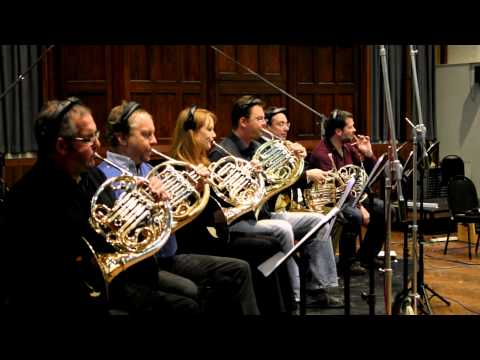 Vanguard - French Horns Recording Session - Behind the Scenes