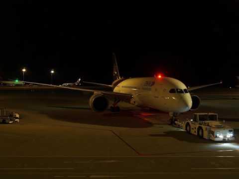 2017/03/24 Thai Airways International 647 Announcement: Nagoya Chubu - Bangkok