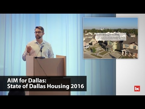 AIM for Dallas: State of Dallas Housing 2016