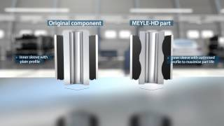 MEYLE-HD at its best: Rubber-to-metal bonds – strong and durable!