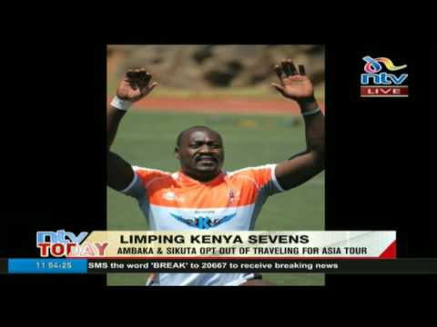 Limping Kenya 7s: Ambaka and Sikuta opt out of travelling for Asia tour
