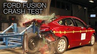 Ford Fusion (2017) Rear Crash Test