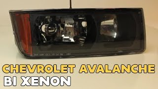 Chevrolet Avalanche Bi xenon projector lens instruction video