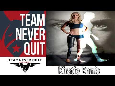 EP.# 83: Kirstie Ennis – USMC Helo Door Gunner Amputee – 7 Summits Climber