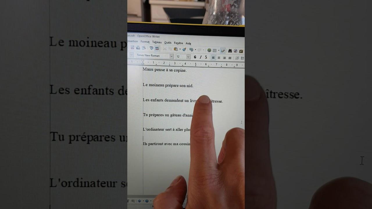 Grammaire 2 juin correction exercice compléments de verbe ...