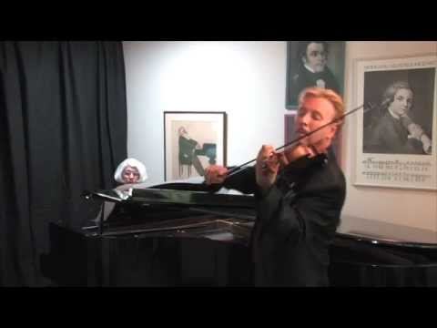 Hatikvah performed by Barbara Becker (piano) and James Greening (violin)