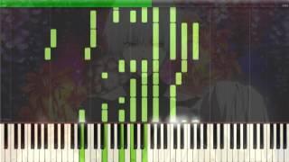 [Tokyo Ghoul √A] ED Kisetsu wa Tsugitsugi Shindeiku Piano Synthesia Tutorial