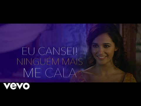 "Isabela Souza - Ninguém Me Cala De ""Aladdin"" Lyric"
