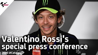 Valentino Rossi 2021 Announcement Press Conference | #CatalanGP