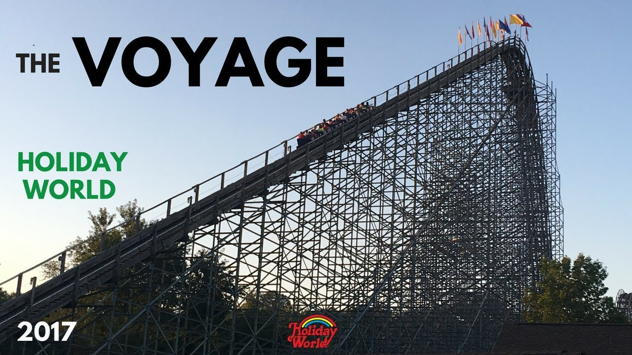 The Voyage at Holiday World 2017 front seat on-ride POV HD ...