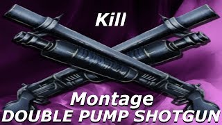 DOUBLE PUMP SHOTGUN Kill Montage Trick / Glitch - (Fortnite)
