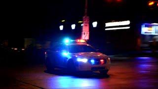 LAVAL QUEBEC TAURUS POLICE CAR RESPONDING