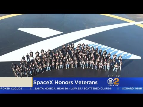SpaceX Pays Tribute To Its Veterans