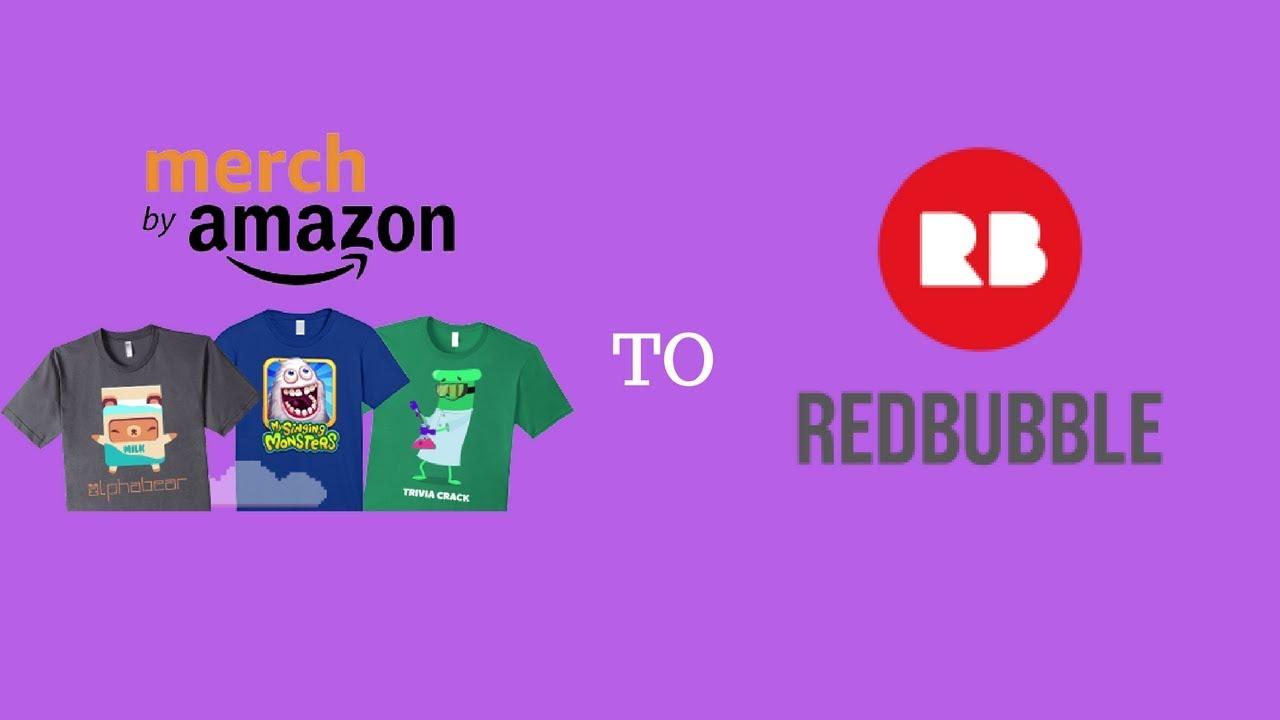 fa462f03 Merch By Amazon to Redbubble - YouTube