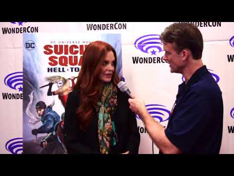 Kristin Bauer van Straten   Suicide Squad: Hell to Pay at WonderCon